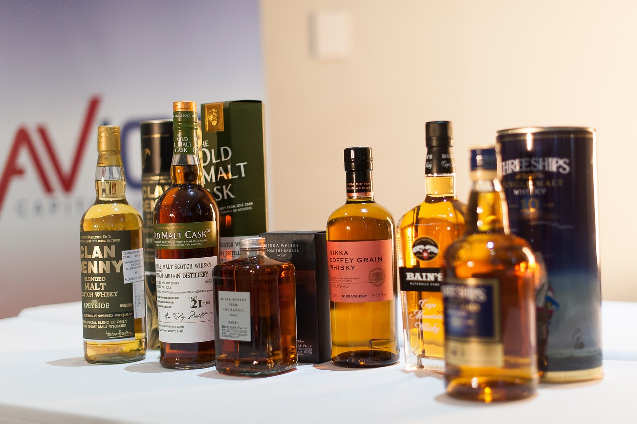 Avior Cape Town Whisky Tasting Event 2015