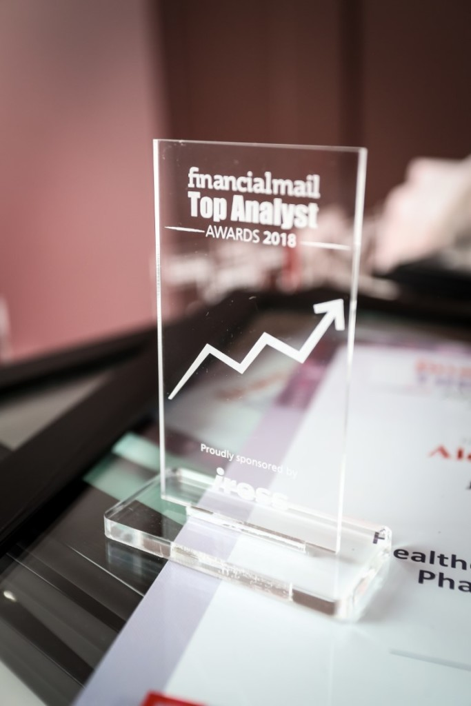 FM ranking the analyst awards 2018 trophy